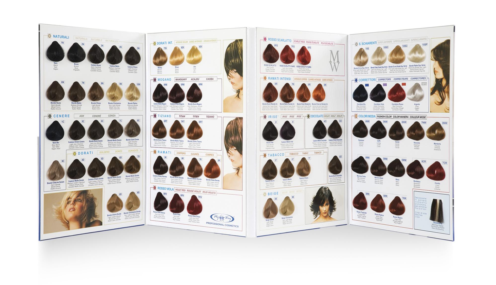 Conosciuto My Way | Professional Cosmetics » Linea Color AG77